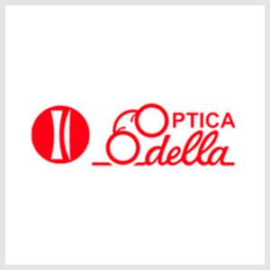 Logo óptica Odella