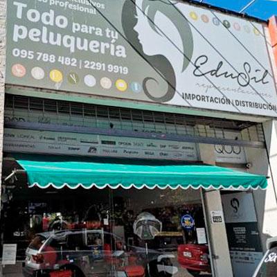 Foto frente local Edusil - Firma Convenio Edusil - CCIAP