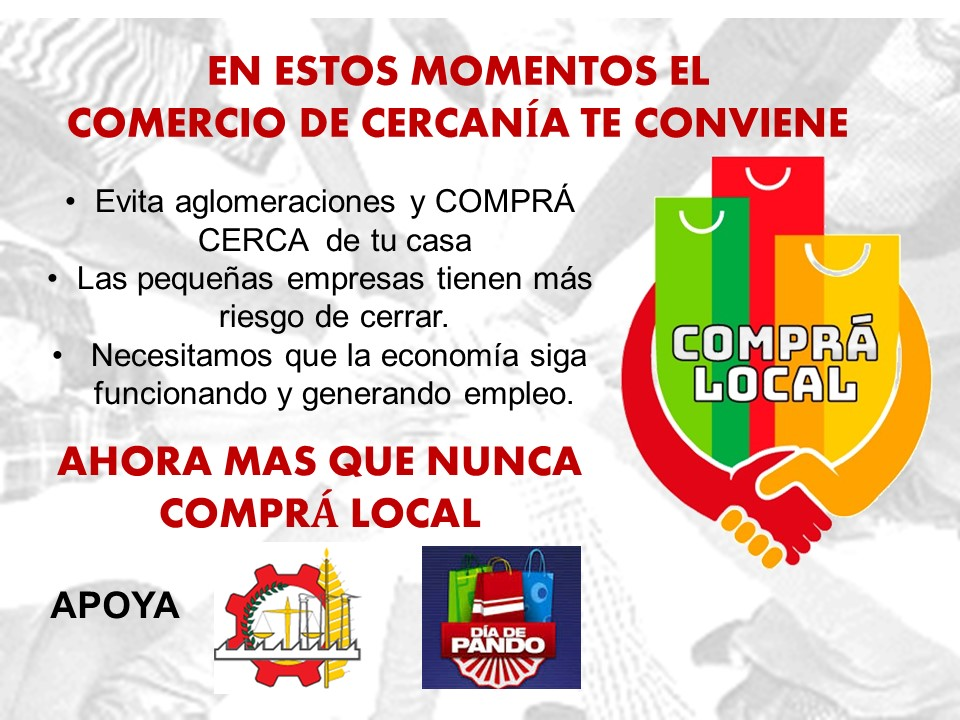 Comunicado CCIAP - Comprá Local