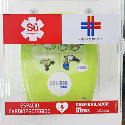 Imagen Desfibrilador -Espacio Cardioprotegido