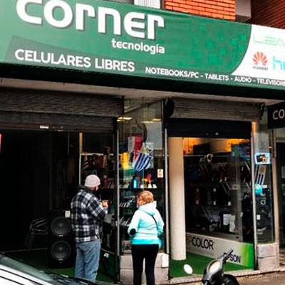 Foto frente local Corner tecnología- Firma Convenio Corner - CCIAP